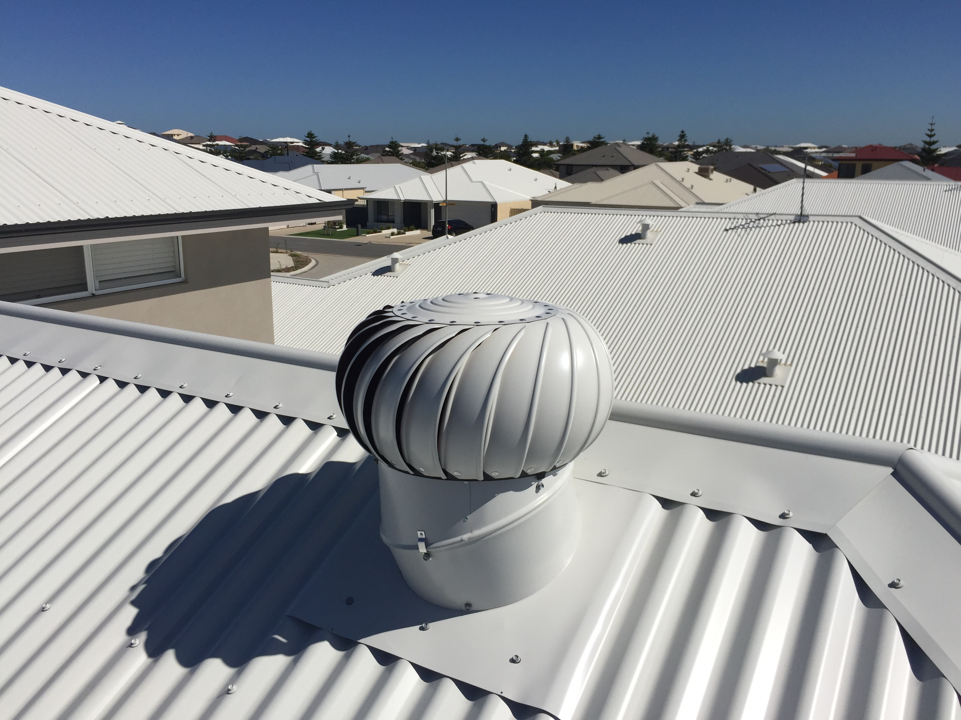 Whirlybird Roof Vents : Whirlybirds and roofing vents wa gallery of