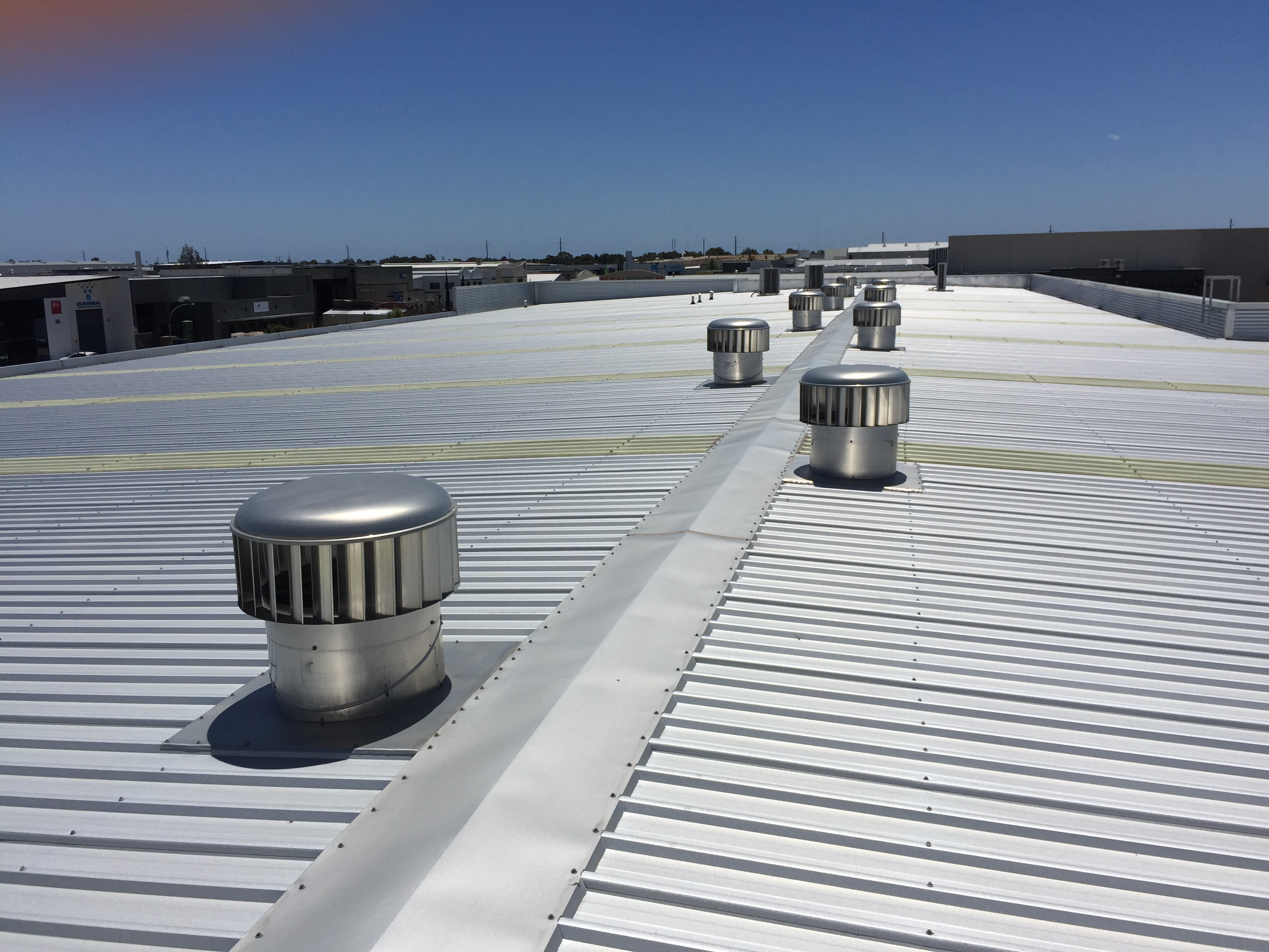Industrial Roof Vents : Whirlybirds and roofing vents wa gallery of
